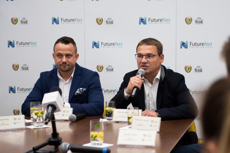 Śląsk ze sponsorem tytularnym. Norbert Kulon i Aleksander Leńczuk wzmacniają WKS