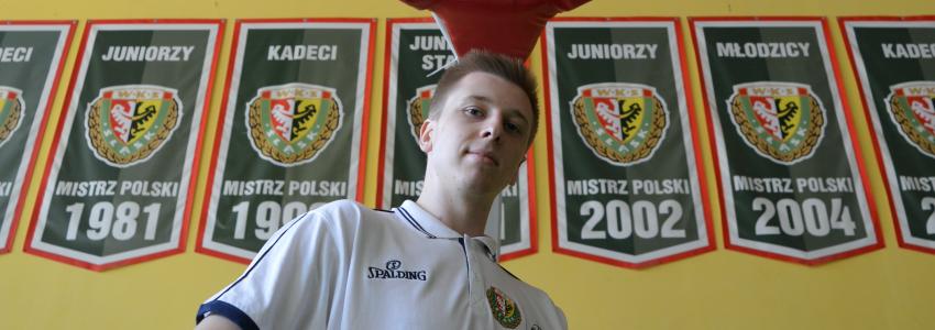 Michał Jodłowski wraca do Śląska. Wychowanek powalczy o minuty w PLK