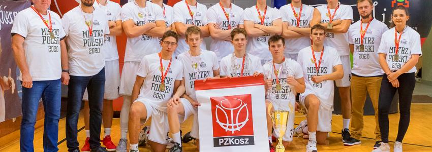 Śląsk Wrocław Mistrzem Polski Juniorów! Kacper Marchewka z tytułem MVP turnieju finałowego
