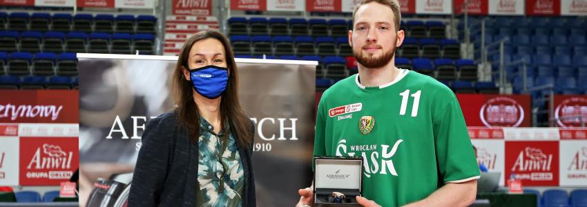 Aleksander Dziewa MVP listopada w Energa Basket Lidze!
