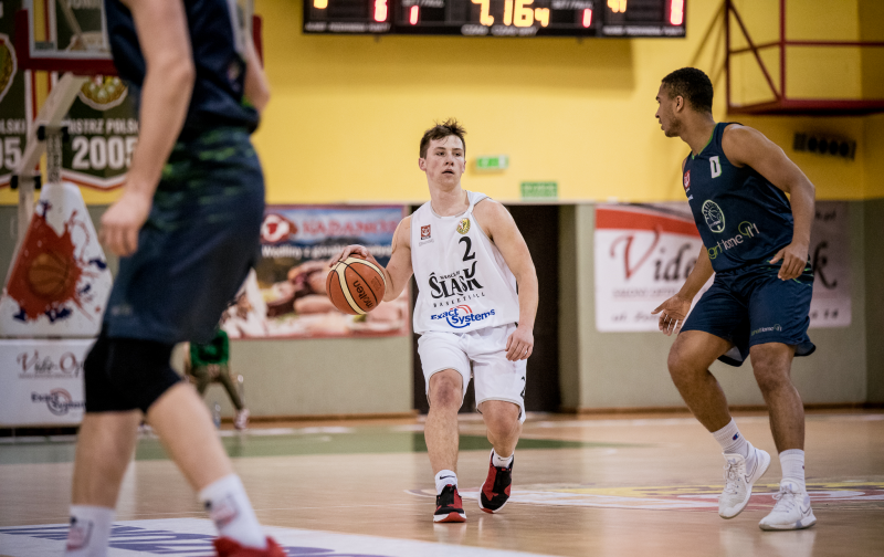 Słaba 2. połowa i porażka Exact Systems Śląska z AZS-em Basket Nysa (galeria zdjęć)