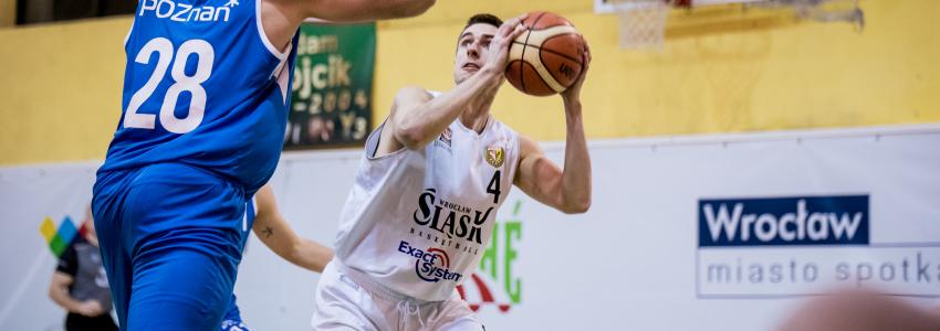 Porażka Exact Systems Śląska z Basketem Poznań (galeria zdjęć)