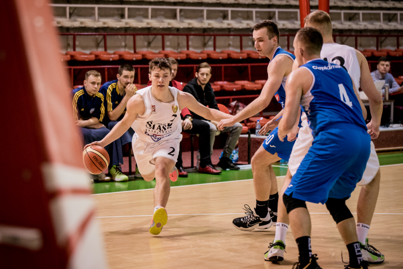 Śląsk przegrał z Koszem Pleszew w ostatnim domowym meczu sezonu (galeria zdjęć)